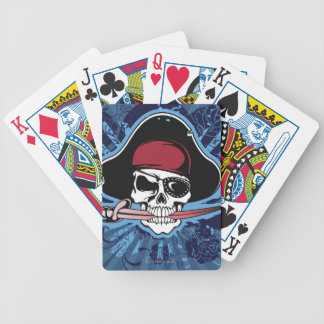 Skull of a Pirate Bicycle Playing Cards