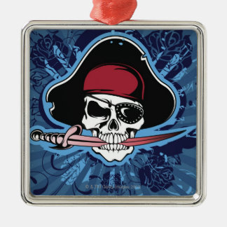 Skull of a Pirate Christmas Ornament