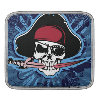 Skull of a Pirate iPad Sleeve