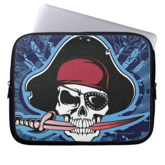 Skull of a Pirate Laptop Sleeve