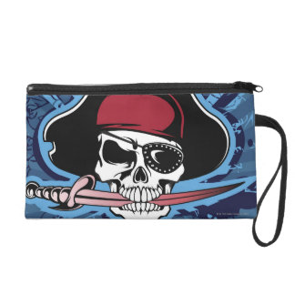 Skull of a Pirate Wristlet Purse