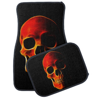 Skull of Flames Custom Car Mats Floor Mat