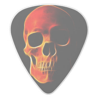 Skull of Flames Guitar Pick
