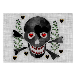 Skull of Hearts Business Card Template