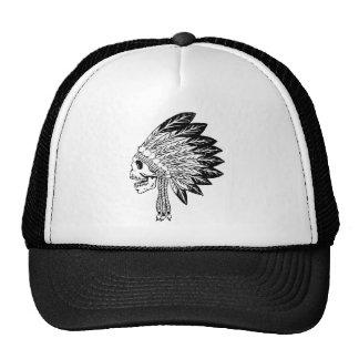 Skull Of Indian Trucker Hat