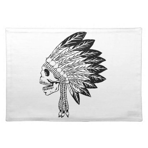 Skull Of Indian Placemat