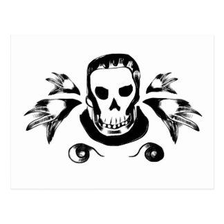 Skull One Vykort