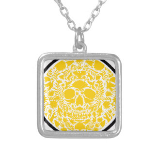 SKULL ORANGE PRODUCTS PERSONALIZED NECKLACE