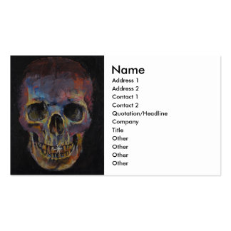Skull Pack Of Standard Business Cards