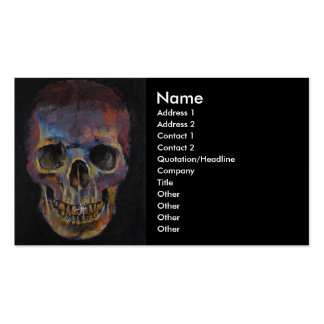 Skull Pack Of Standard Business Cards