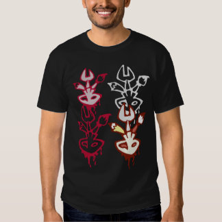 Skull, Paintbrush, Wrench, and Pencil Logos Tees