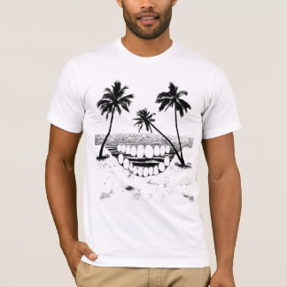 Skull Palm Tree T-Shirt