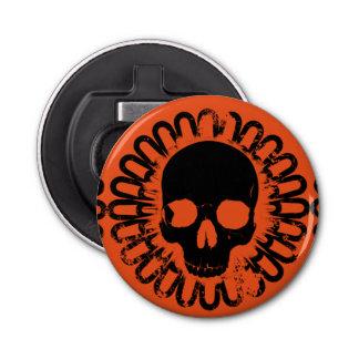 Skull Pattern Fun Halloween Goth Punk Any Color Bottle Opener