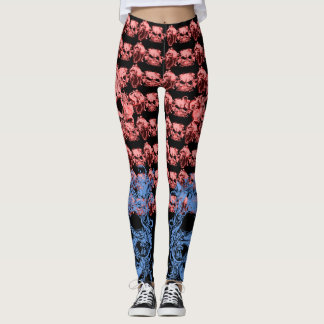 Skull Pattern Leggings