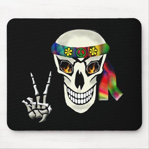 Skull Peace Mouse Mats