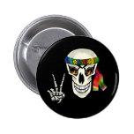 Skull Peace Pin