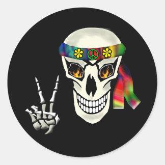 Skull Peace Stickers
