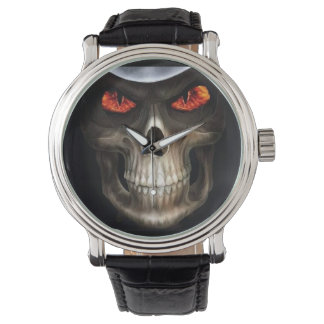skull phone watch