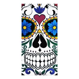 Skull Photo Card