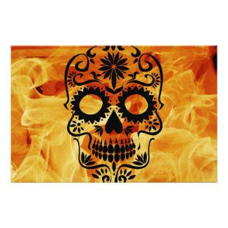 Skull Photo Art