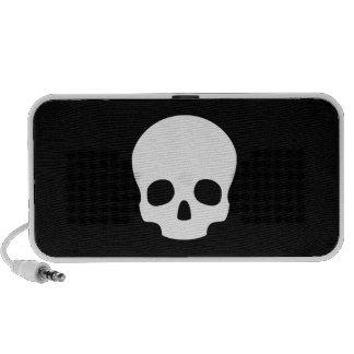 Skull Pictogram Doodle Speaker