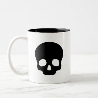 'Skull' Pictogram Mug