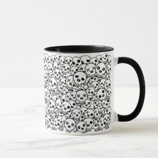 Skull Pile Mug
