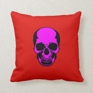 Skull Pillow - Candy on Blood