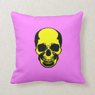 Skull Pillow - Vanilla & Cotton Candy