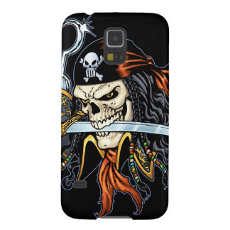Skull Pirate With Sword And Hook By Al Rio Case For Galaxy S5