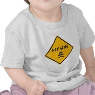 skull poison tshirt