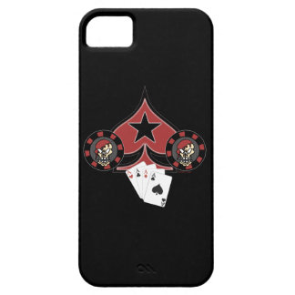 Skull Pokerchip iPhone 5 Case