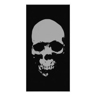 Skull Pop Art Photo Card