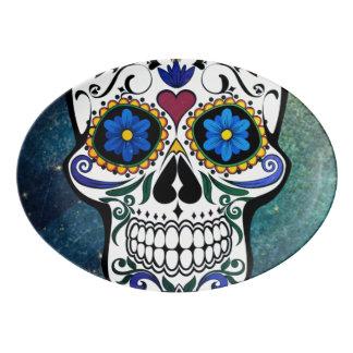 Skull Porcelain Serving Platter