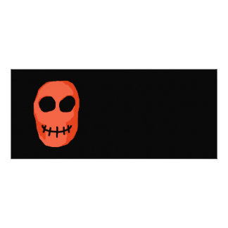 Skull Red and black Primitive Style Announcement