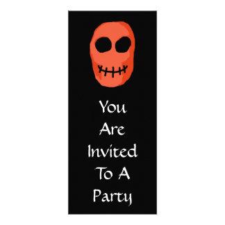 Skull Red and black Primitive Style Custom Invitation