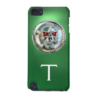 SKULL RIDERS MONOGRAM green iPod Touch 5G Cover