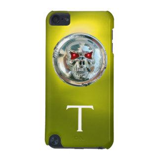 SKULL RIDERS MONOGRAM yellow iPod Touch 5G Covers