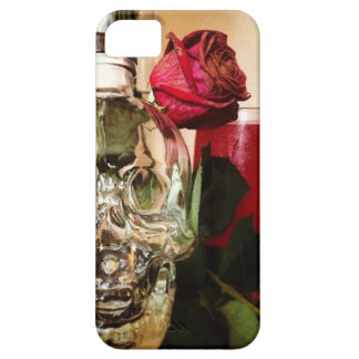 skull roses and drink barely there iPhone 5 case