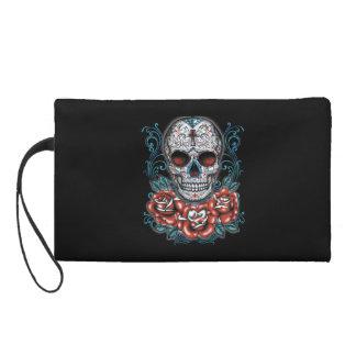 Skull & Roses Wristlet