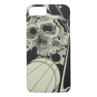 Skull sacred Geometry iPhone 7 Case