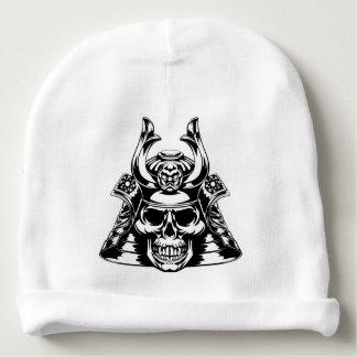 Skull Samurai Baby Beanie
