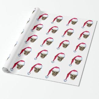 Skull Santa Wrapping Paper