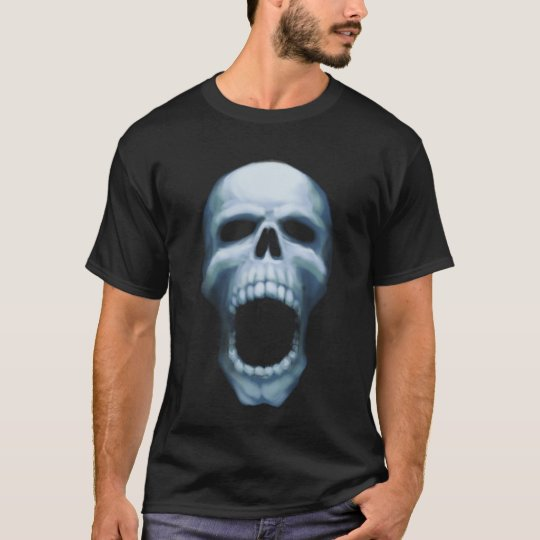 Skull Scream (black) T-Shirt