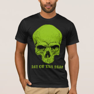 Skull Shirts Green Day Of The Dead