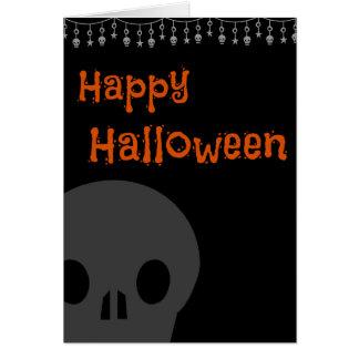 Skull Simplicity Card