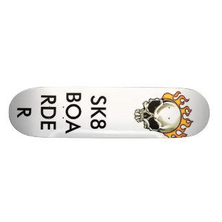 skull SK8BOARDER Skateboards