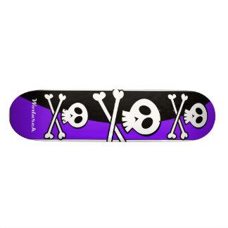 Skull Skateboard Design