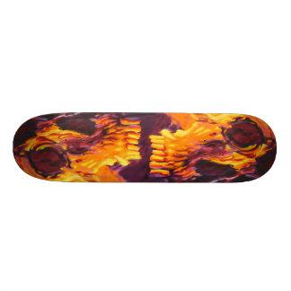 Skull skates skate board deck