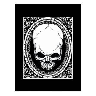 Skull ~ Skeleton Skulls Gothic Black Post Cards